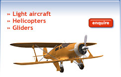 Aviation Insurance - Light Aircraft - Helicopters - Gliders